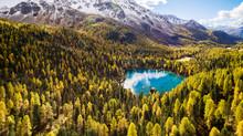 Lago Saoseo - Val Di Campo - Poschiavo - Svizzera - Vista Aerea