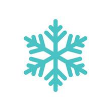 Snowflake Freeze Winter Blue W...