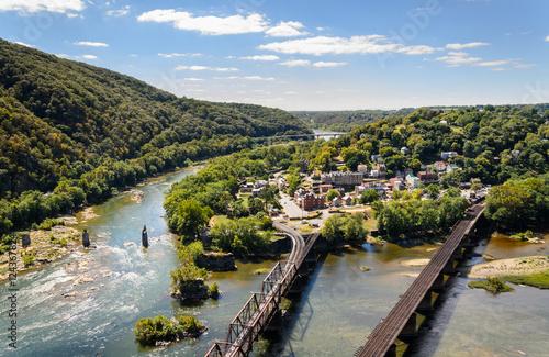 Fotografie, Obraz  Harpers Ferry National Historical Park