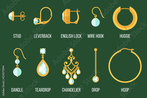 Tablou Canvas Earring types