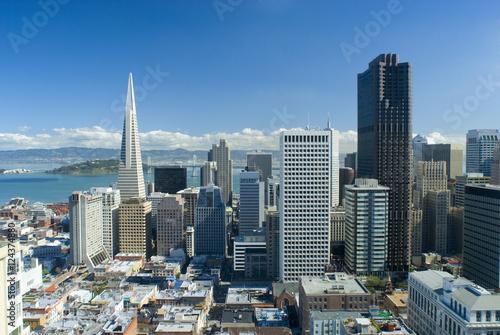 Keuken foto achterwand San Francisco san francisco city view