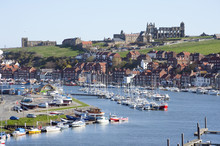 Whitby Upper Harbour And Abbey...