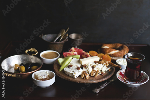 Turkish breakfast Poster