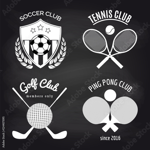 Tennis Team Banners Gold Snowflake Banners