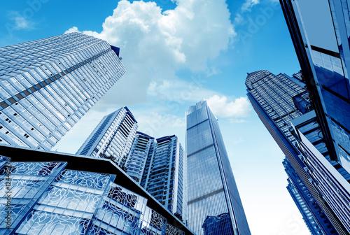Photo  China Chongqing skyscrapers