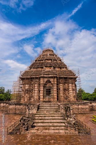 Fotografie, Obraz  Konark Sun Temple Vertical