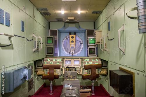 inside the MIR orbital station