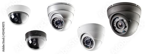 Fotografía  ceiling security camera