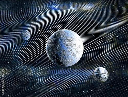 planety-na-niebieskim-tle