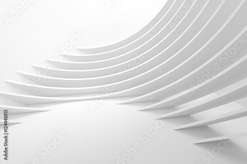 Deurstickers Abstract wave Abstract Architecture Background