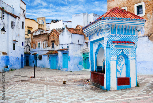 Papiers peints Maroc Medina of Chefchaouen city in Morocco, Africa