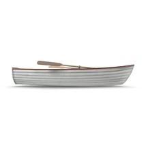 Fishing Boat Isolated On White...