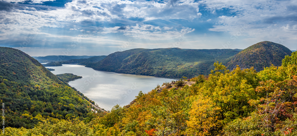 Fototapety, obrazy: Panoramic view from Breakneck Ridge