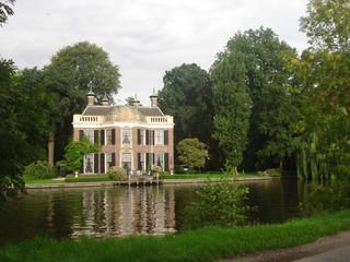 Mansión típica,Ruta en bici por Holanda