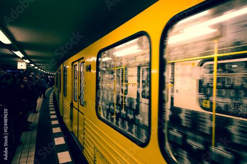 Plakat Berlin underground