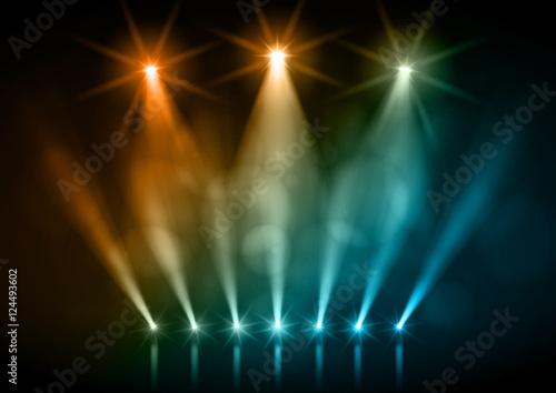 Scène et projecteurs vectoriels 2