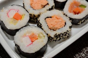 Panel Szklany Do gastronomi Sushi