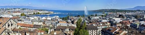 Fotografia Panoramic view of Geneva, Switzerland