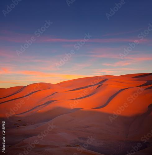 Deurstickers Baksteen Sand dunes in Erg Chebbi in Sahara desert, Morocco, Africa