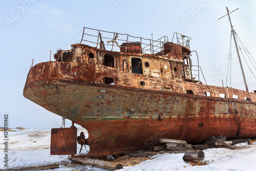 Poster Naufrage abandoned ship