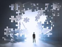 Jigsaw Puzzle Wall