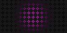 Black And Purple Circles Modern Background Illustration
