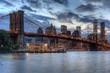 Brooklyn Bridge and the Freedom Tower