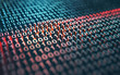 canvas print picture - Binary Code Encryption