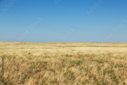 The plains of South Dakota on a summer day. Canvas Print