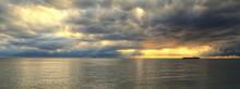 Cargo Ship At The Ocean