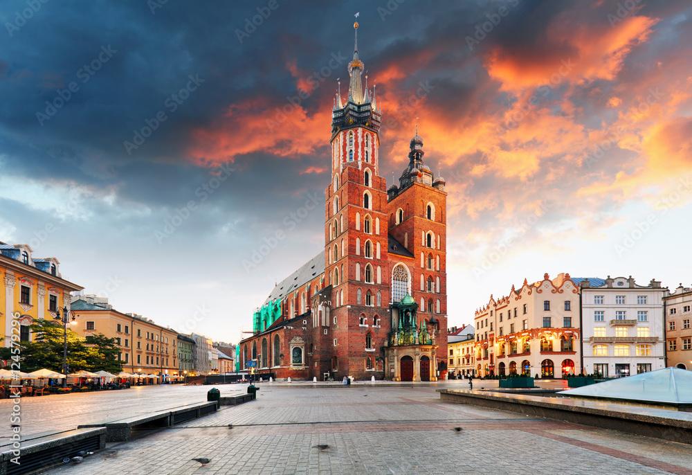 Fototapety, obrazy: Krakow old town, Poland