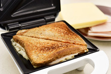Toasted Sandwiches In A Sandwich Toaster