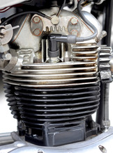 Motorrad Zylinder