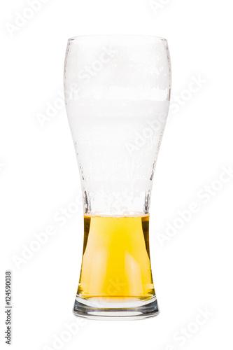 Fotografie, Obraz  Half full beer glass