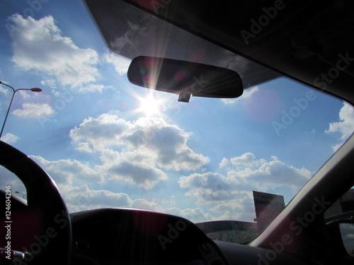 Raggio di sole durante il viaggio - sereno
