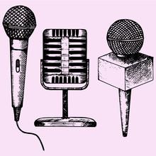Set Microphone Karaoke Doodle ...