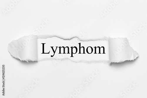 Fotografie, Obraz  Lymphom on white torn paper