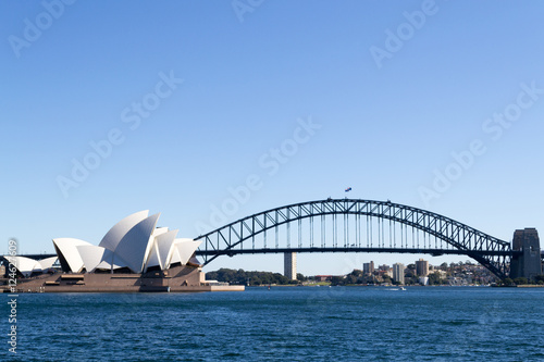In de dag Australië Icons of sydney