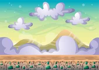 cartoon vector sky backgrou...