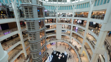 View Of Shopping Mall Interior...