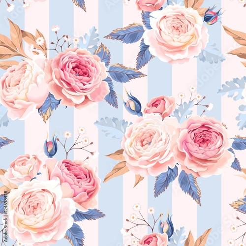bezszwowe-roze-vintage