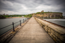 Tynemouth, The Port For Newcastle