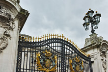 Entrance Of Buckingham Palace London, England, Great Britain