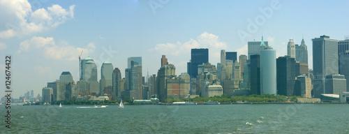 Foto op Aluminium New York Panorama, New York Skyline