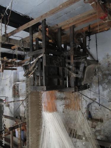 Jacquard loom - Buy this stock photo and explore similar