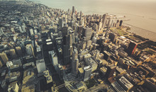 Chicago Downtown- Aerial View ...