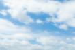 Soft blur white cloud and blue sky