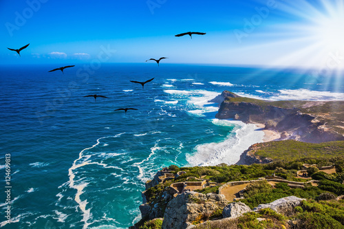 Sunset on Cape of Good Hope Fototapeta