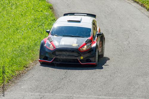 Stickers pour porte Motorise Rally automobilistico