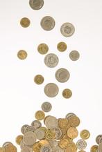 Spadające Monety